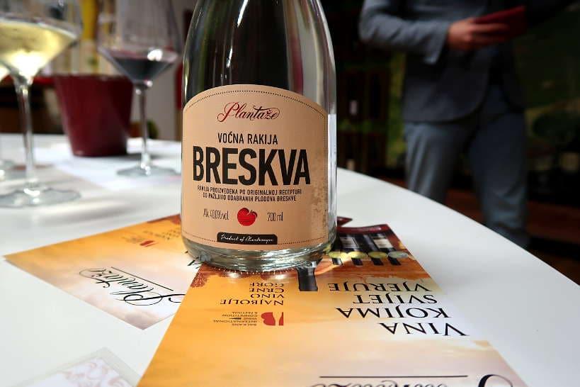 Rakija Montenegro Brandy Authentic Food Quest