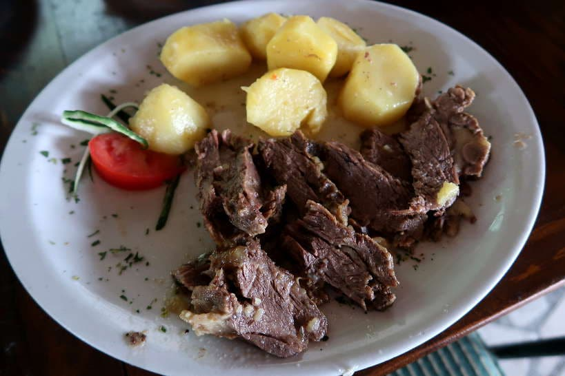 Roasted Veal Food in Montenegro by Authentic Food Quest