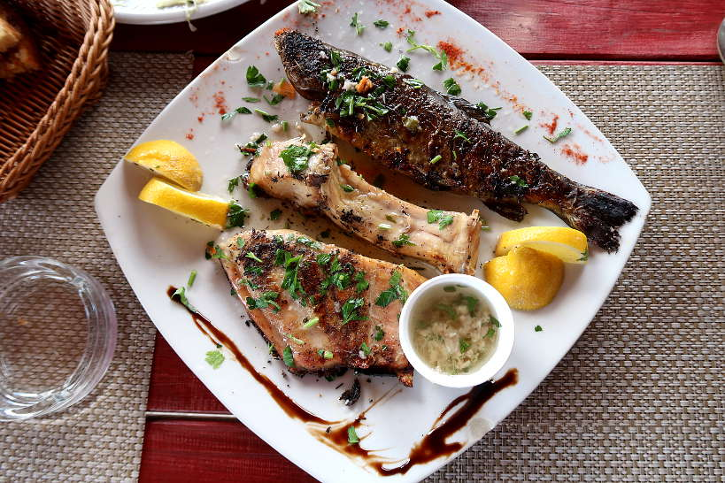 Trout and Carp from Lake Skadar Montenegro by Authentic Food Quest