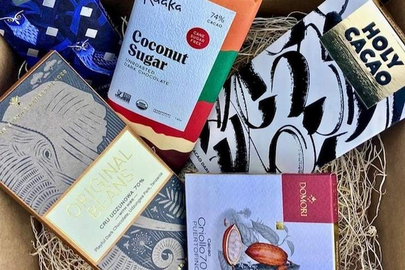 Chocolate Lovers Box by Authentic Food Quest