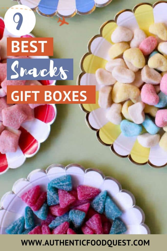 Pinterest Snacks Gift Box Ideas by Authentic Food Quest