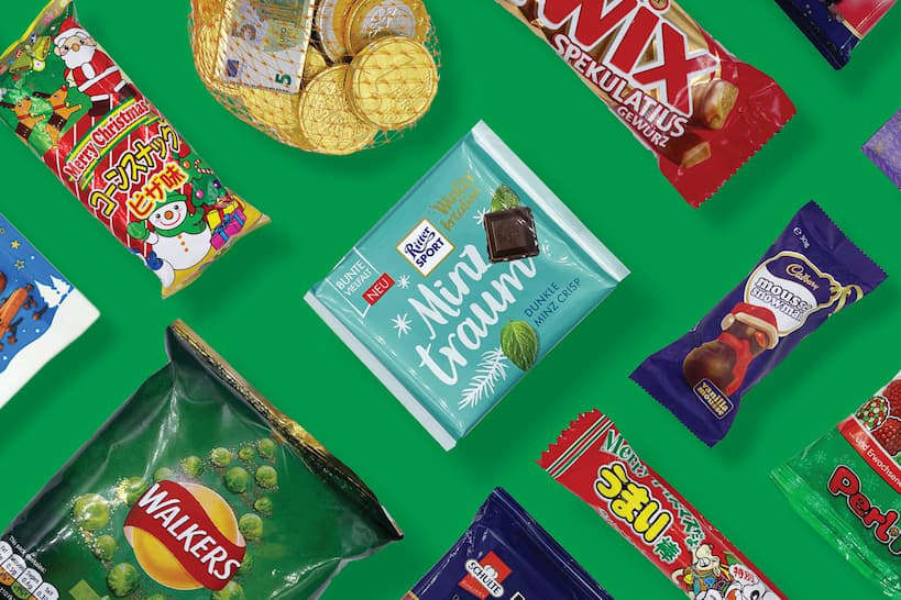 Snack Crate Snacks Around the World Box by Authentic Food Quest