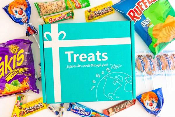 Treats Snack International Box by Authentic Food Quest