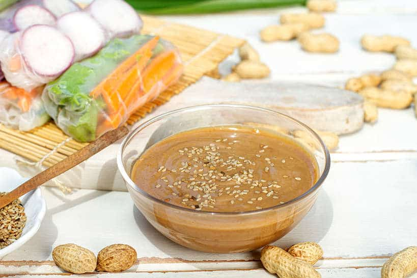 Vietnamese Peanut Sauce For Spring Rolls by Authentic Food Quest