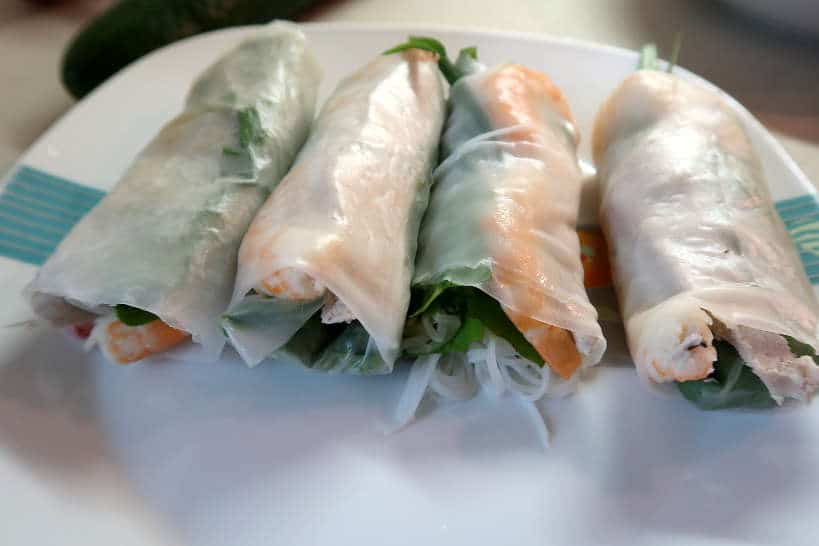 Vietnamese Spring Rolls by Authentic Food Quest